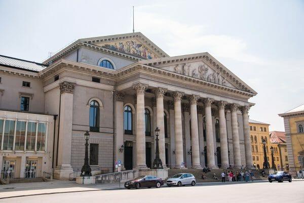 Historic opera house in Munich