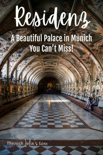 Tour of Residenz: A Beautiful Palace in Munich You Can't Miss!