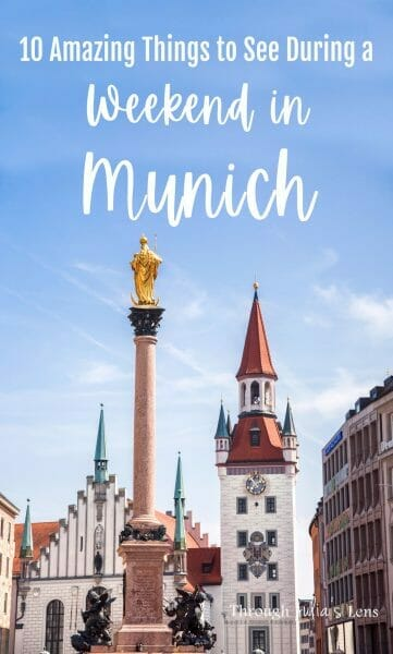 10 Amazing Things to See During a Weekend in Munich