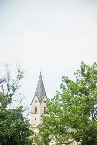 Stone church in Germany