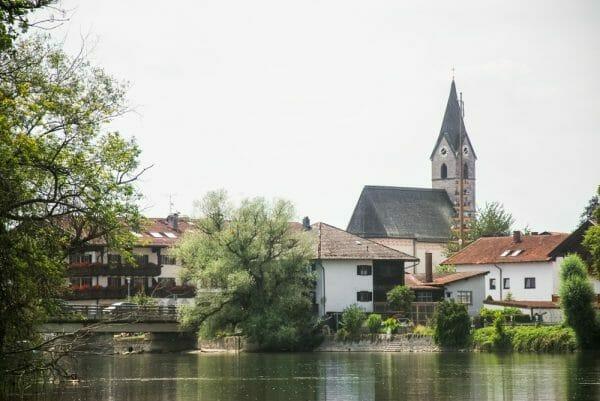 Historic church in Germany