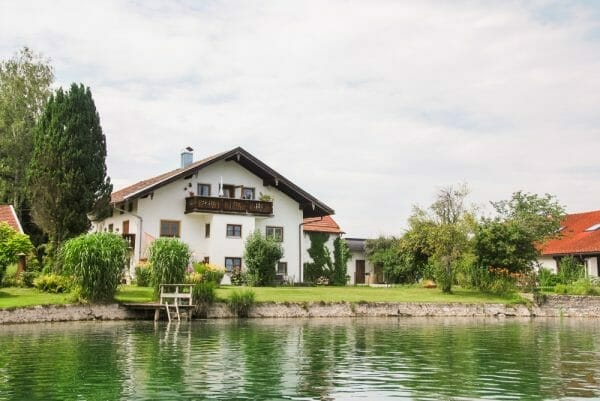 House on the Alz in Germany