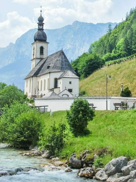 Historic church on the Alz