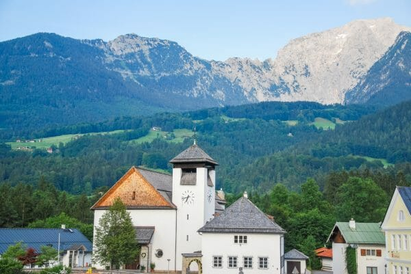 Historic church in the Alps