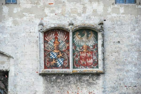 Fresco on Burghausen