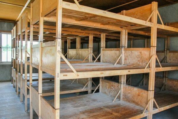 Beds in Dachau