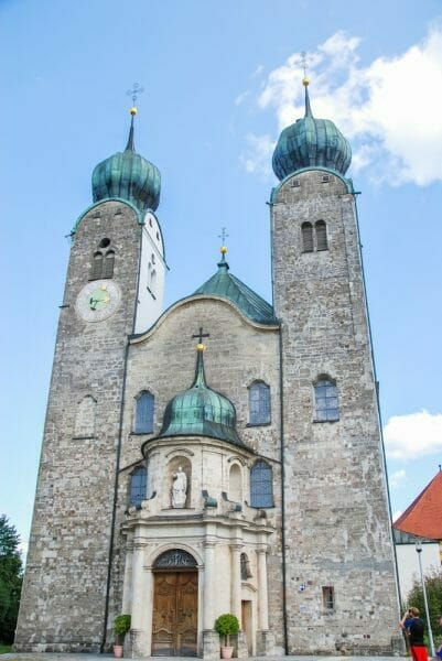 Cathedral in Altenmarkt, Germany