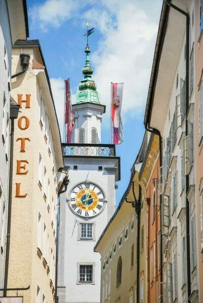 Walking street in Salzburg