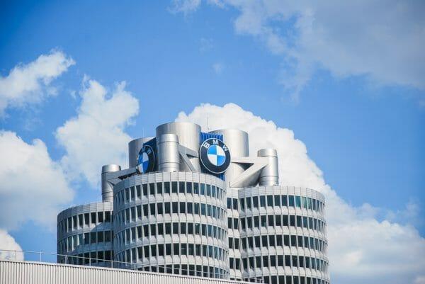 BMW factory in Munich