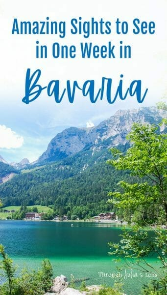 Amazing Sights to See in One Week in Bavaria, Germany