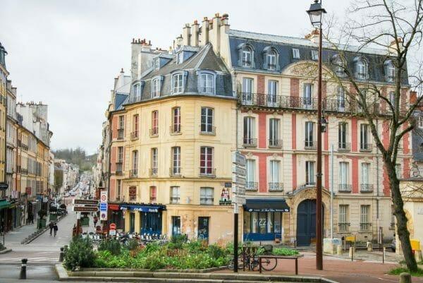 Historic architecture in Paris