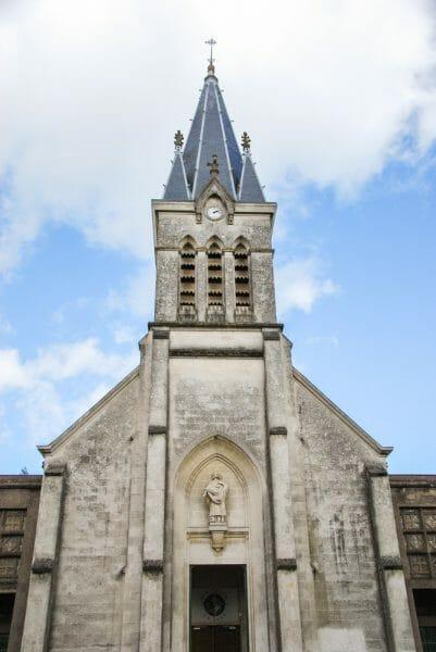 Historic church in Paris
