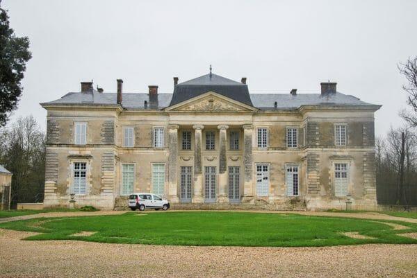 Edwardian house in France