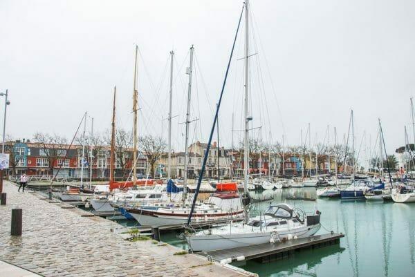 Harbor in La Rochelle