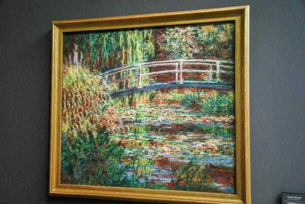 Monet painting in Musee D'Orsay