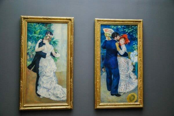 Renoir paintings in Musee D'Orsay