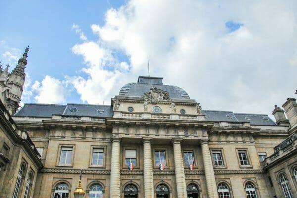 Historic building in Paris