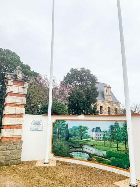 Historic mansion in Pornic, France