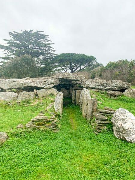La Joselière dolmen in Pornic, France