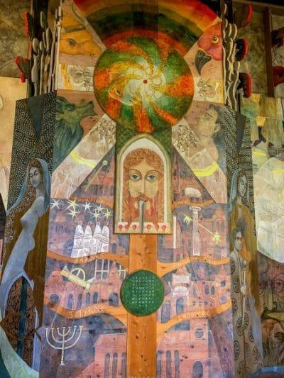 Salle des Dominicains monastery in Saint Emilion