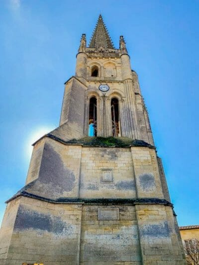 Bell tower in Saint Emilion