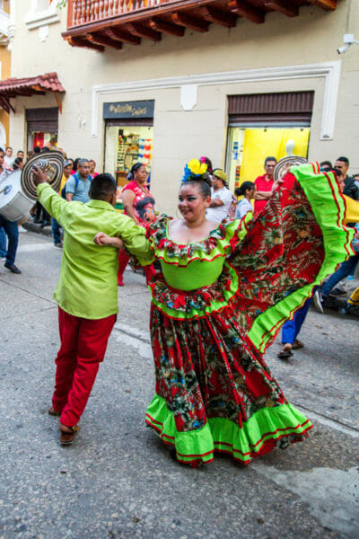 Independence Day parades in Cartagena