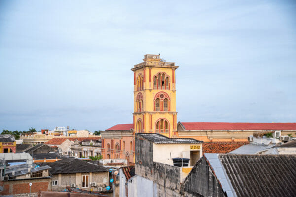 View from Hotel Don Pedro Heredia in Cartagena