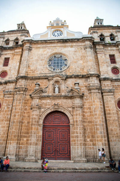 Church of St. Peter Claver in Cartagena