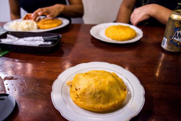 Empanada in Cartagena