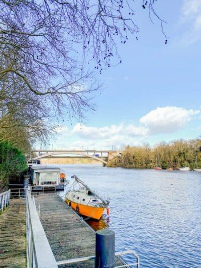 River Erdre in Nantes