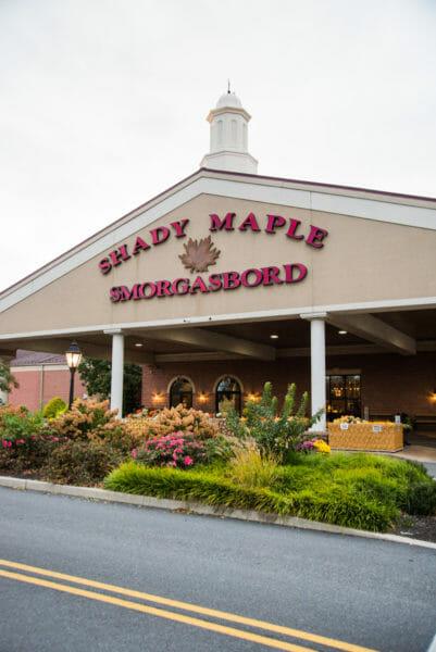 Shady Maple Smorgasbord