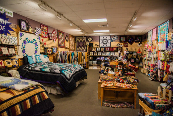 Amish quilting store in Lancaster