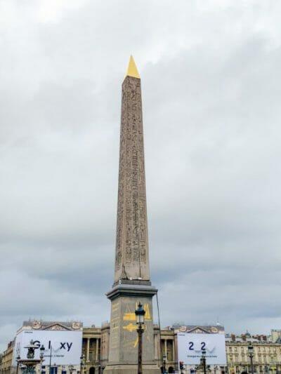 Place de la Concorde with the Great Obelisk