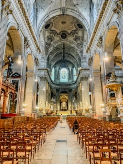 Historic cathedral in Paris