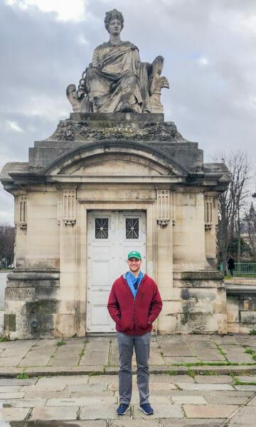 Historic statue in Paris