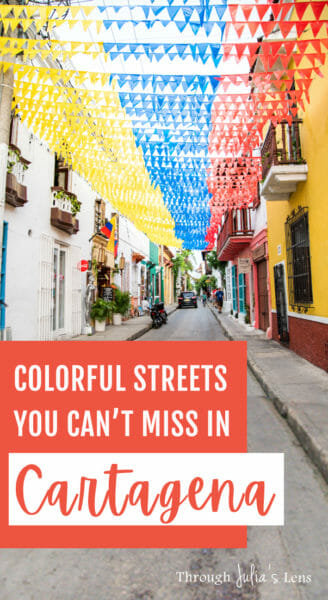 Things to See and Colorful Streets in Cartagena, Colombia