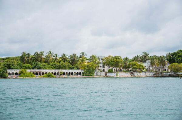 Pablo Escobar's mansion on the Rosario Islands