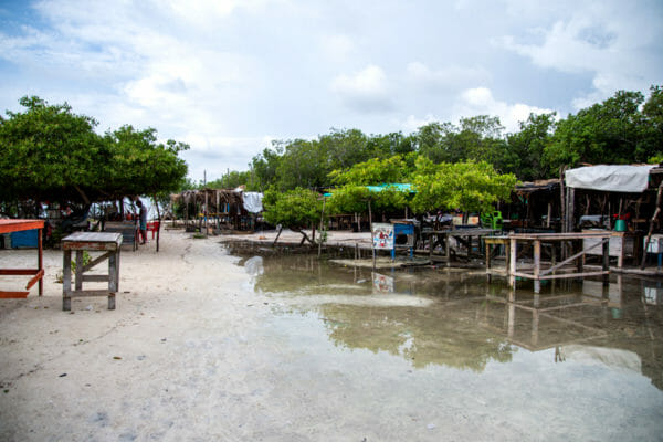 Bar on the Rosario Islands