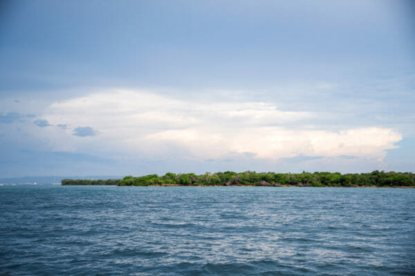 Water by the Rosario Islands