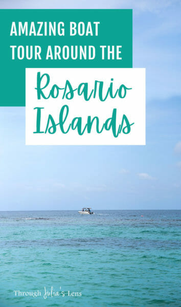 Day Trip from Cartagena: Beautiful Rosario Islands Boat Tour