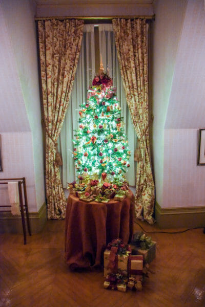 Christmas tree in the Biltmore