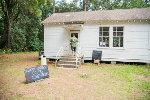 School Grounds Coffee on Daufuskie Island