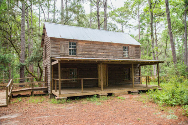 Historic meeting hall on Daufuskie Island
