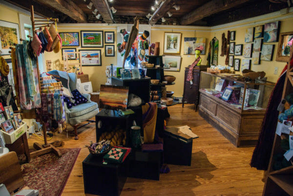 Artisan shop on Grand Isle State Park, Vermont