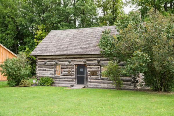 Hyde Log Cabin at Grand Isle State Park, Vermont