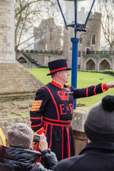 Yeomen Warder at the Tower of London
