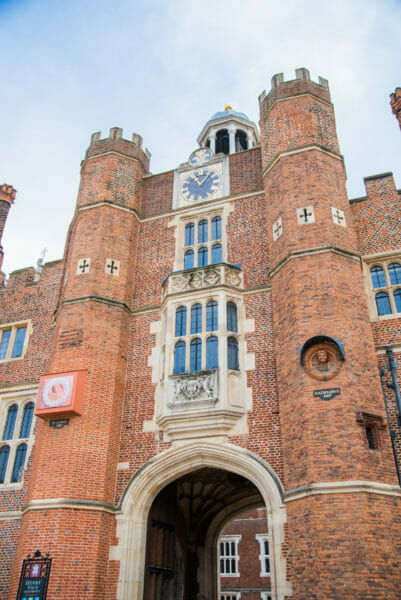 Clock tower at Hampton Court