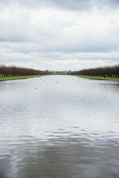 Large pond at Hampton Court