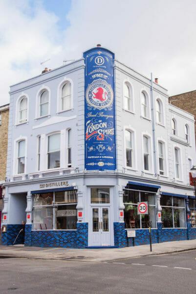 London Spirit gin distillery in Notting Hill