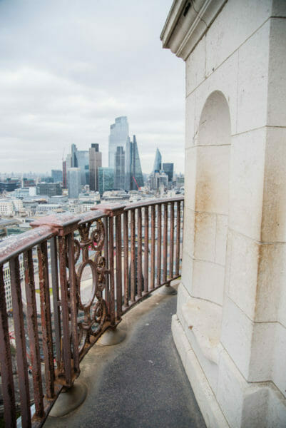 Top of St. Paul's Cathedral roof